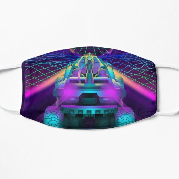 Outrun Retrowave Warthog Halo Ring Mask