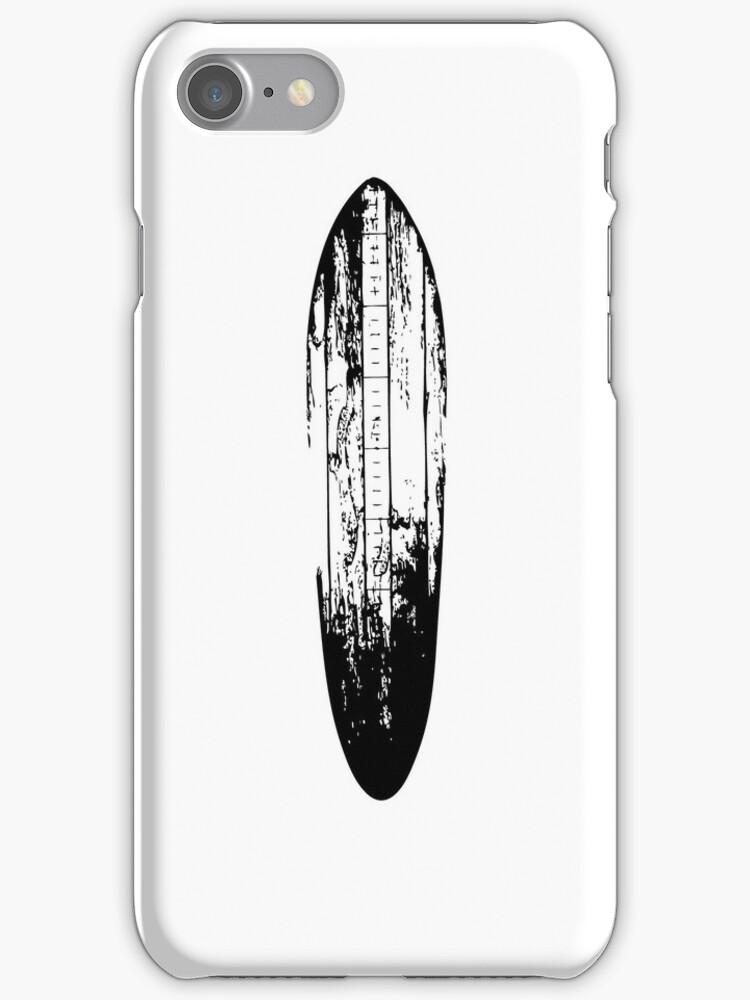 Wooden Surfboard by jockscahill