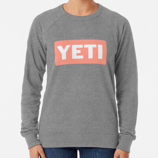 Yeti Sticker Lightweight Sweatshirt