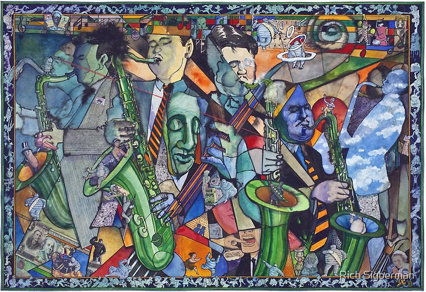 Michellin Pop Jazz by Rich Sigberman