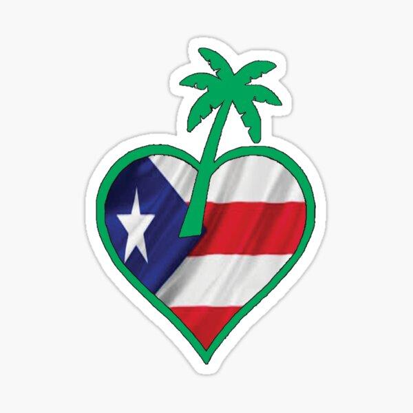 TropicalLove Puerto Rico Sticker