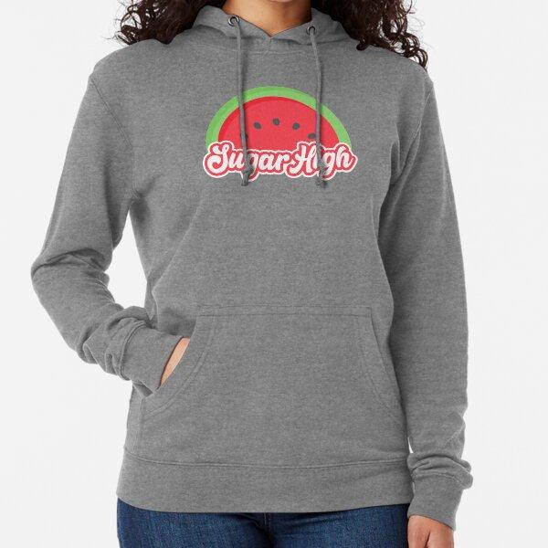Sugar High Watermelon Lightweight Hoodie