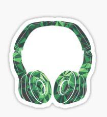 Military headphone Sticker