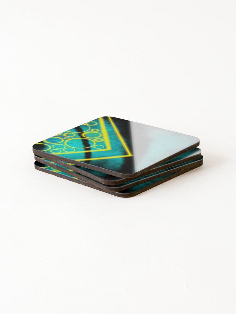 Alternate view of Now Neon Coasters (Set of 4)