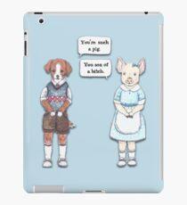 Animal Puns iPad Case/Skin