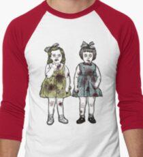 Zombie Tots Men's Baseball ¾ T-Shirt