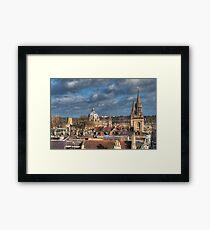 Oxford Skyline Framed Print