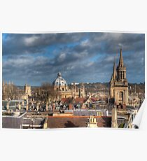 Oxford Skyline Poster