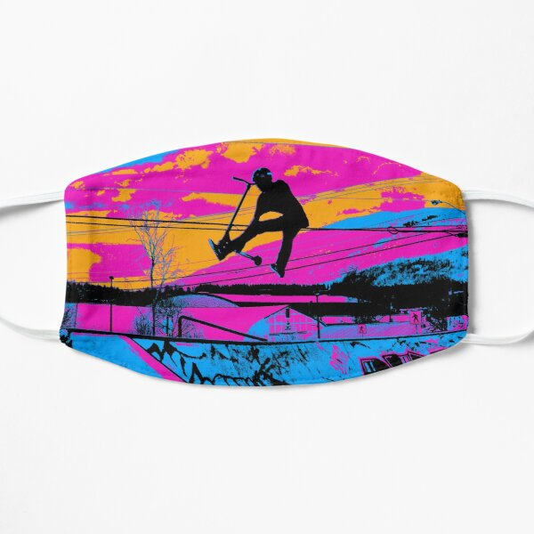 Let's Fly! - Stunt Scooter Mask