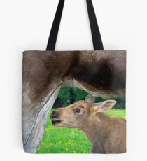 Baby Moose - Searching for Milk Tote Bag