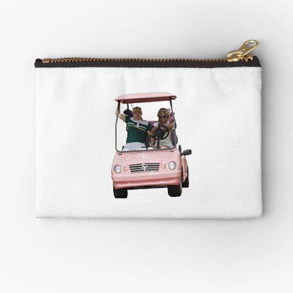 Golf Cart with Sharpay Zipper Pouch