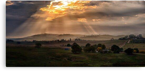 Solitude - Jingellic NSW/ Walwa Victoria (Colour) - The HDR Experience by Philip Johnson