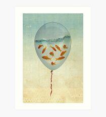 balloon fish 02 Art Print