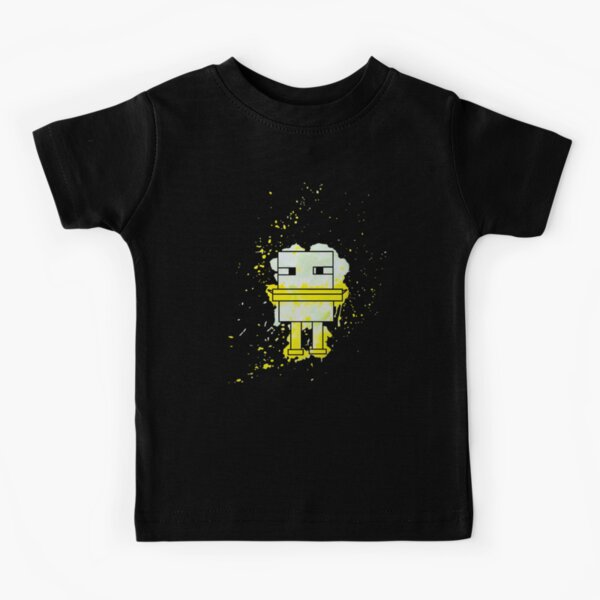 Splatter Duck - Minecraft inspired. Kids T-Shirt