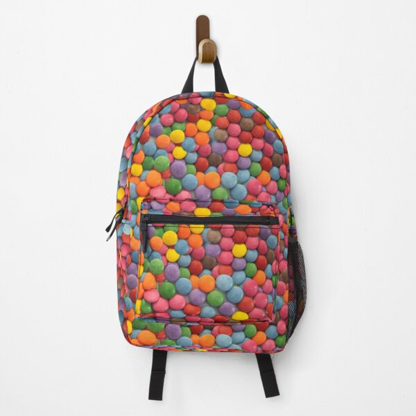 Sugar-Coated Milk Chocolate Real Candy Photo Pattern Backpack