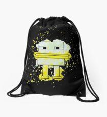 Splatter Duck - Minecraft inspired. Drawstring Bag