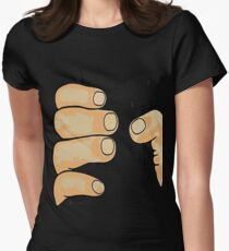 Human Doll Women's Fitted T-Shirt