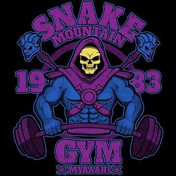 Snake Mountain Gym by jozvozdesign