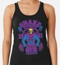 Snake Mountain Gym Racerback Tank Top