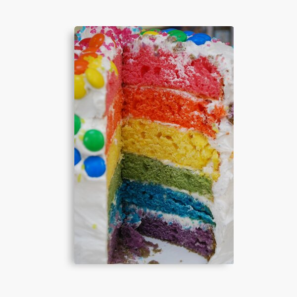 Any one for a slice of a rainbow!? Canvas Print