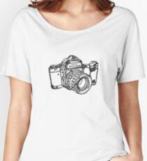 Pentax 6X7 Medium Format Camera Women's Relaxed Fit T-Shirt