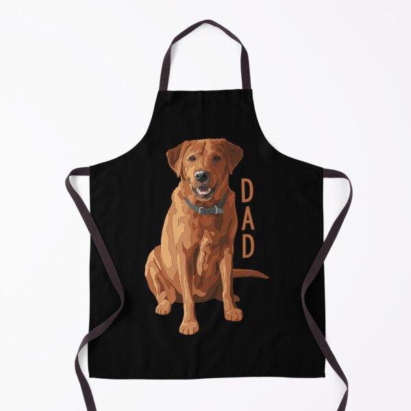 Lab Dad Fox Red Labrador Retriever Dog Apron