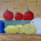 fruit of the kitchen  by Linda Ridpath
