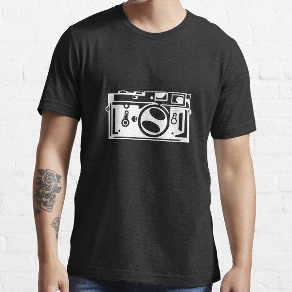 Classic Leica M3 Camera Design WHITE INK for DARK TEES Essential T-Shirt