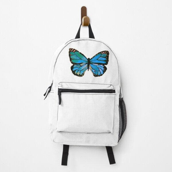Aqua and Teal Monarch Backpack