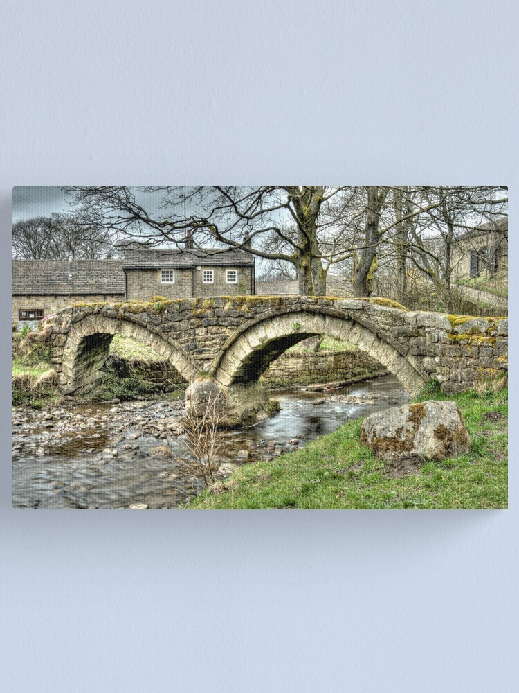 Alternate view of Wycoller Village (HDR) Canvas Print