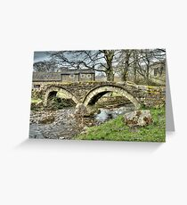 Wycoller Village (HDR) Greeting Card