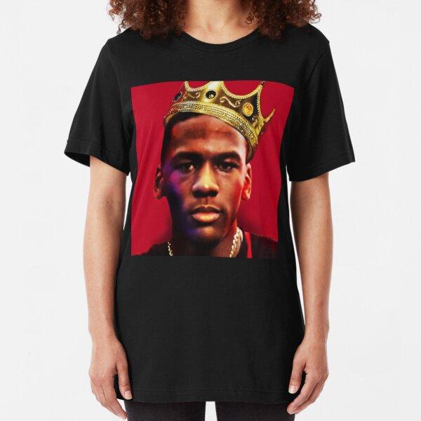 The Notorious M.J. (Michael Jordan) Slim Fit T-Shirt
