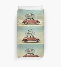 VW Bike Rack Duvet Cover