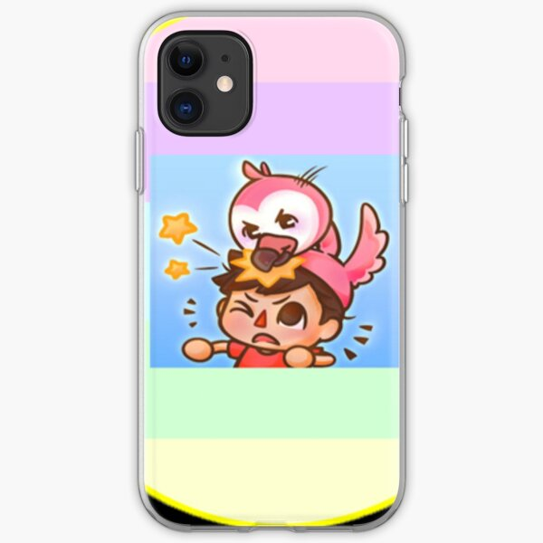 Flamingo Youtube Roblox Trolling With Sing Flamingo Roblox Iphone Cases Covers Redbubble