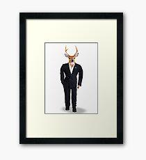 Buck in a Tux Framed Print