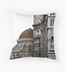 The Basilica di Santa Maria del Fiore (North Side) Throw Pillow