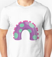Sea Monster in Purple (body) Unisex T-Shirt