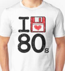 I Heart 80's Unisex T-Shirt