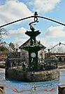 Froggie Fountain by Carol Bleasdale