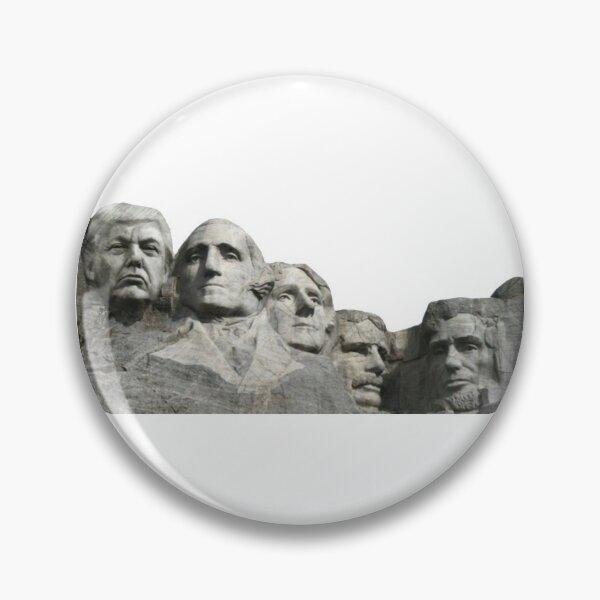 Mt Rushmore Button Pinback Pin