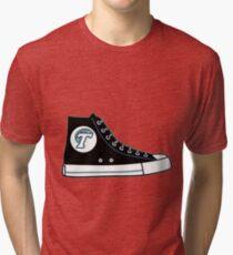 Tulane University Converse Sneaker Tri-blend T-Shirt
