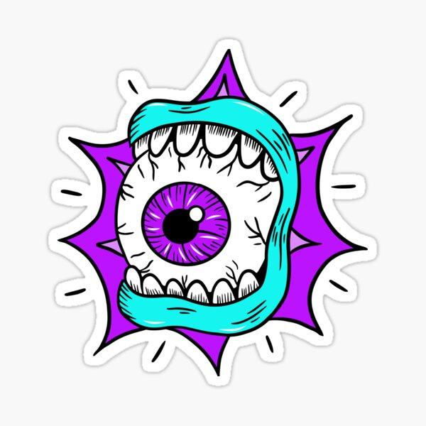 Eye See You Shredding, Skateboard Eyeball Sticker
