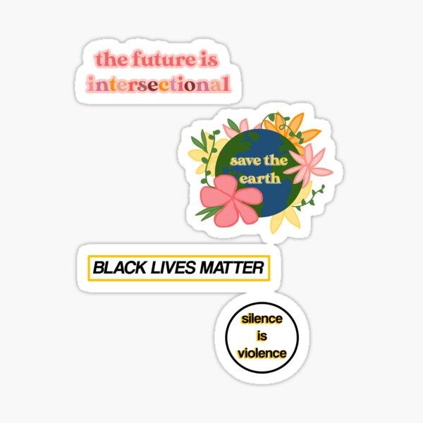 Social Justice Sticker Pack Sticker