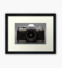 Head On Framed Print