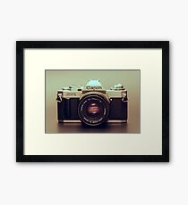 Analogue Age Framed Print
