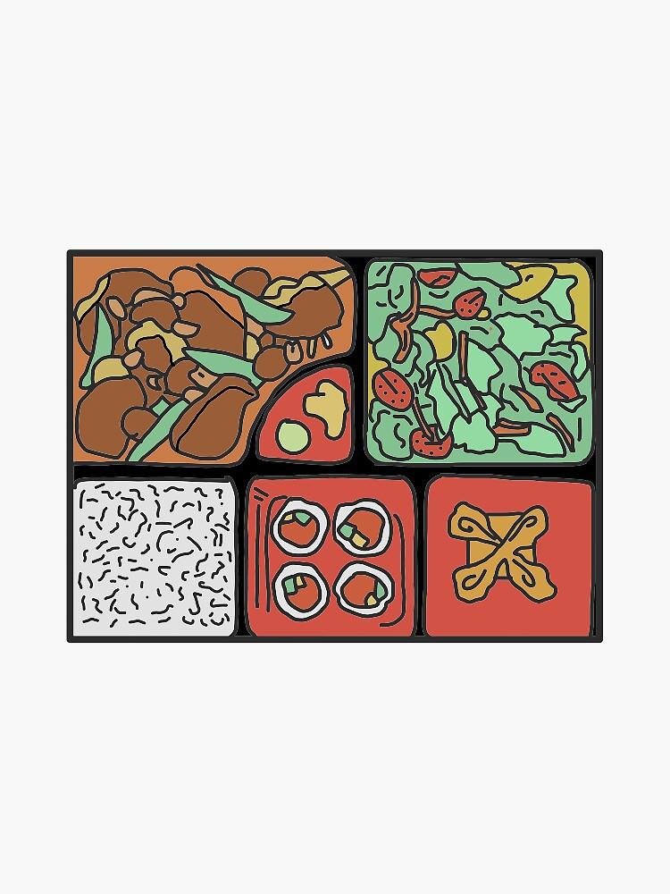Bento Box Sticker by annasstickrs