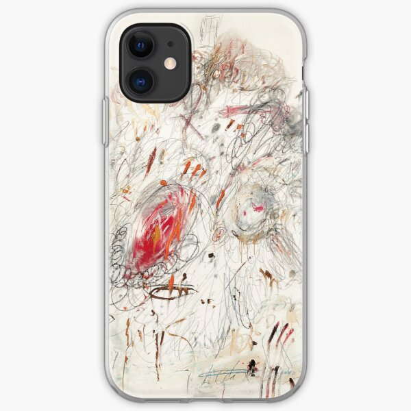 Cy Twombly - Leda and the Swan iPhone Soft Case