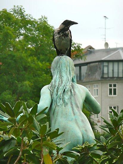 Lovely Bird Perch by Rachel Gagne
