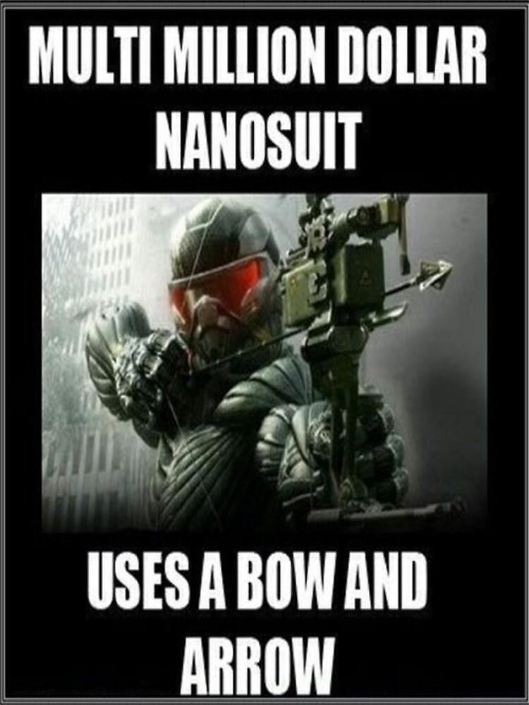 Crysis 3 joke poster by balestrieri5