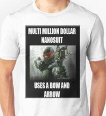 Crysis 3 joke Shirt Unisex T-Shirt